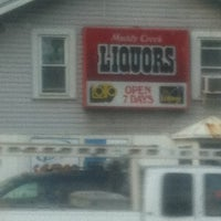 Photo taken at Muddy Creek Liquors by Bobby P. on 4/24/2012