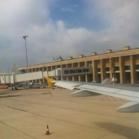Photo taken at Seville Airport (SVQ) by Carlos D. on 3/15/2012