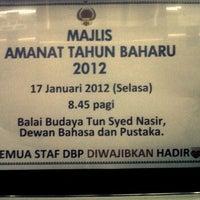 Photo taken at Menara DBP by Oh R. on 1/17/2012