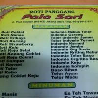 Photo taken at Roti Panggang Palasari by Tanasil W. on 9/5/2012