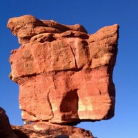 Photo taken at Balanced Rock At Garden Of The Gods by Darcie B. on 10/23/2011