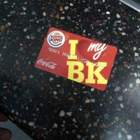 Photo taken at Burger King by Khaleel M. on 1/26/2012