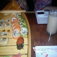 Photo taken at Sushihana by Nahuel C. on 1/30/2012