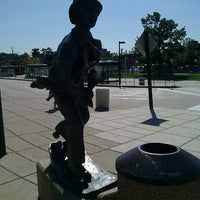 Photo taken at Wheaton Metro Station by Michael G. on 10/6/2011