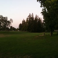 Photo taken at Vinewood Dog Park by Amy R. on 7/24/2011