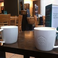 Photo taken at Starbucks by Stephanie M. on 4/11/2012