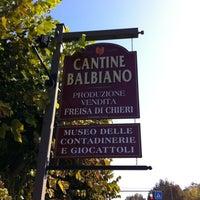 Photo taken at Azienda Vitivinicola Balbiano by Luca B. on 10/17/2011