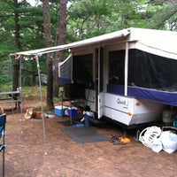Photo taken at Cape Ann Campsite by Rich P. on 7/30/2011