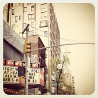Photo taken at IFC Center by Ron V. on 4/4/2012