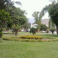 Photo taken at Parque de la Juventud by Miguel S. on 12/8/2011