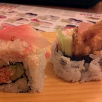 Photo taken at Samurai Sushi by Andres T. on 1/22/2012