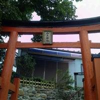 Photo taken at 山王神社前 by Sekizuka on 7/14/2012