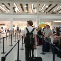 Photo taken at South Terminal by Ruth J. on 7/6/2012