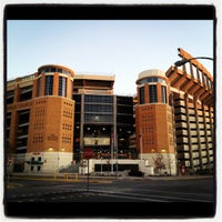 Photo taken at Darrell K Royal-Texas Memorial Stadium by Alissa S. on 1/3/2012