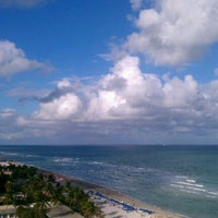 Photo taken at DoubleTree by Hilton Ocean Point Resort & Spa - North Miami Beach by Ashley P. on 11/28/2011