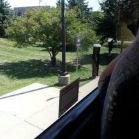 Photo taken at Megabus Stop by Dee S. on 8/23/2012