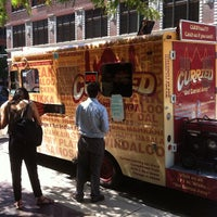 Photo taken at Curried Mobile Food Truck by Kevin on 7/31/2012