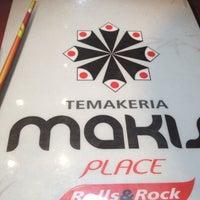 Foto tirada no(a) Temakeria Makis Place por Ana Carolina M. em 3/20/2012