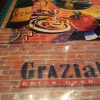 Photo taken at Graziano's Brick Oven Pizza by Eddie M. on 4/20/2012