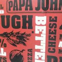 Photo taken at Papa John's Pizza by Jose R. on 4/1/2012