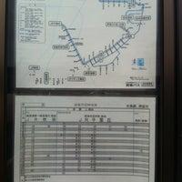 Photo taken at 中鳥飼バス停 by Toshihiro F. on 6/13/2012