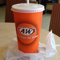 Photo taken at A&W by Razcalz R. on 5/18/2012