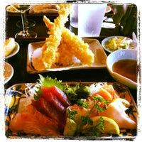 Photo taken at Sakura Japanese Restaurant by Sara T. on 5/5/2012