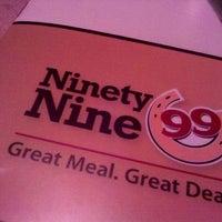 Photo taken at Ninety Nine Restaurant by Robbie C. on 6/26/2011