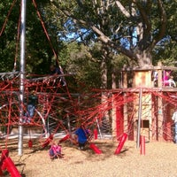 Photo taken at Woodland Discovery Playground @ Shelby Farms by Kyle M. on 10/21/2011