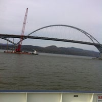 Photo taken at Crown Point Bridge Ferry by Cameron E. on 10/12/2011