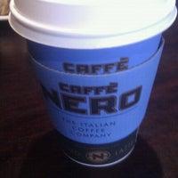 Photo taken at Caffè Nero by James O. on 4/27/2012