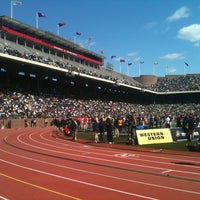 Photo taken at Franklin Field by Melissa R. on 4/30/2011