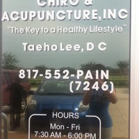 Photo taken at Chiro And Acupuncture, Inc by Ally W. on 5/24/2011