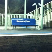 Photo taken at Macquarie Fields Station by Daniel M. on 11/1/2011