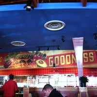 Photo taken at Red Robin Gourmet Burgers by Carrie B. on 10/30/2011