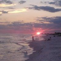 Photo taken at Destin Beach by Valerie R. on 9/11/2012