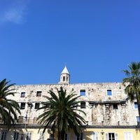 Photo taken at Diocletian's Palace by Max K. on 9/10/2012