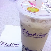 Photo taken at Chatime by Gio M. on 8/10/2011