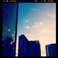 Photo taken at 现代汽车大厦 Hyundai Motor Tower by Ricky X. on 7/12/2012