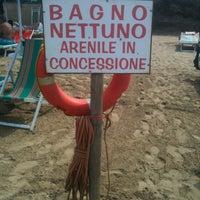 Photo taken at Bagno Nettuno by Gaetano A. on 8/26/2012