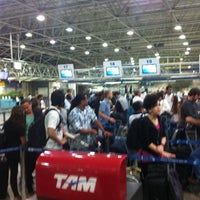 Photo taken at Check-in LATAM by Bayard T. on 9/8/2011