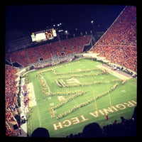 Photo taken at Lane Stadium/Worsham Field by John I. on 9/4/2012
