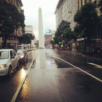 Photo taken at Avenida Corrientes by Rodrigo C. on 7/5/2012