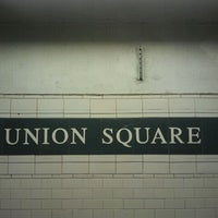 Photo taken at MTA Subway - 14th St/Union Square (4/5/6/L/N/Q/R/W) by The Official Khalis on 10/4/2011