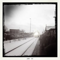 Photo taken at Aurora GO Station by Peter S. on 1/27/2011