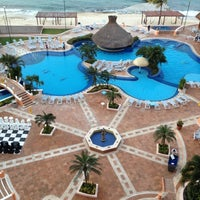 Photo taken at El Cozumeleño Beach Resort by Jerry W. on 1/20/2012