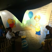 Photo taken at The Many Adventures of Winnie the Pooh by Egin B. on 7/31/2012