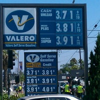 Photo taken at Valero by Jeff B. on 7/30/2012