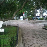 Photo taken at Parque de Tibás by Pablo G. on 10/8/2011