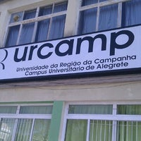 Photo taken at Urcamp - Universidade da Regiao da Campanha by Diego K. on 8/11/2011